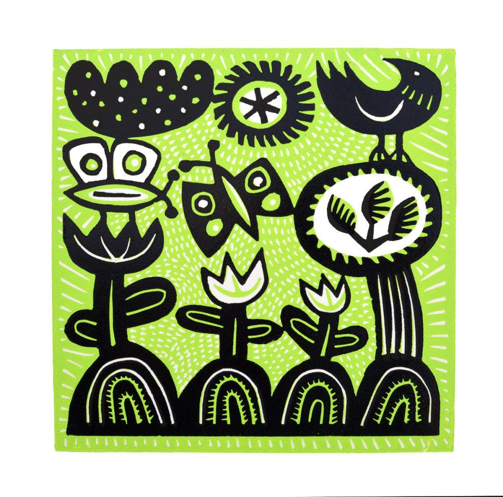 Hilke MacIntyre 'Two butterflies' Card