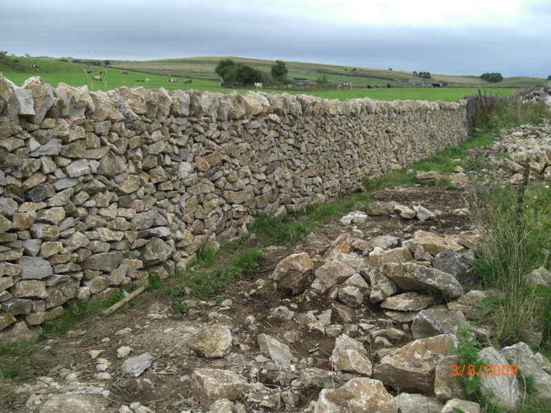 New Drystone Walling