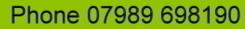 call 07989698190