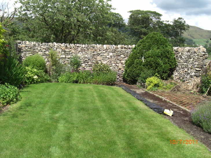 New Dry Stone wall in the Peak District 3