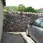 New Dry Stone wall in the Peak District 2.