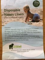 Disposable Nappy Liners - Littlelamb