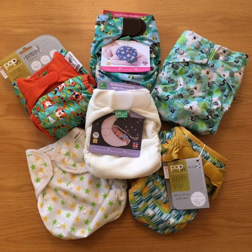 High Five - an assortment of different types of nappies