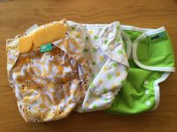 Wraps to go with two-part or flat nappies
