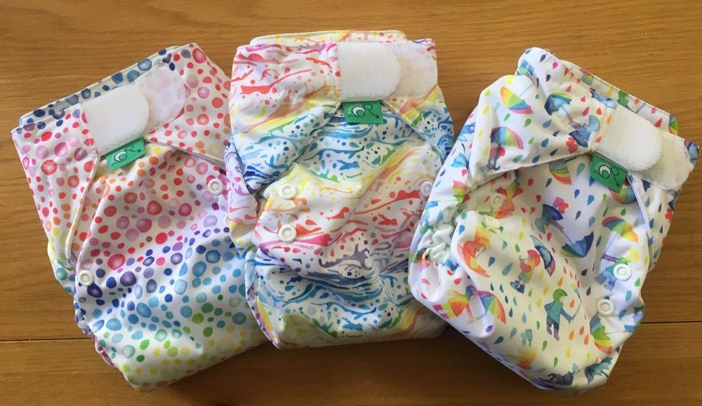 All-in-one nappies - where everything is attached