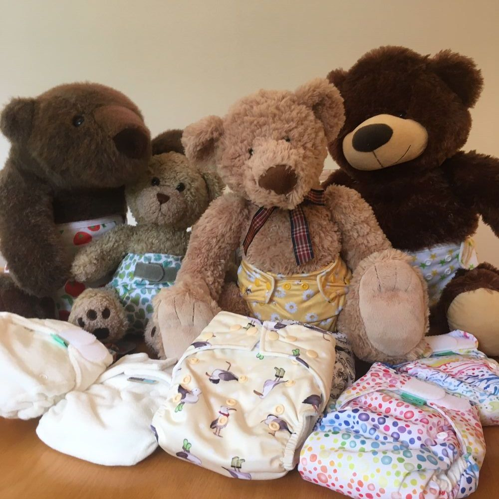 Nappies & Wraps - shop by style