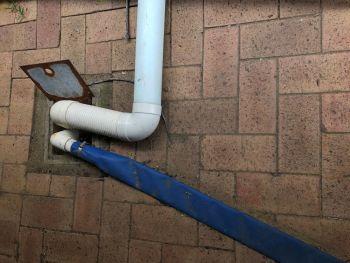 Illegal plumbing discharge