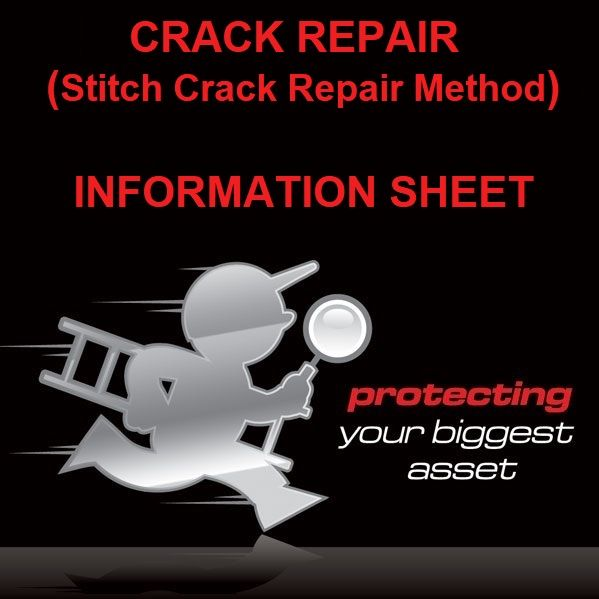 Crack Repair Method Sheet by Building Inspectors Perth