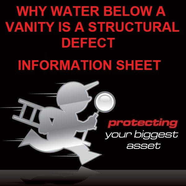 Why Water Below a Vanity is a Structural Defect Guide by Building Inspectors Perth