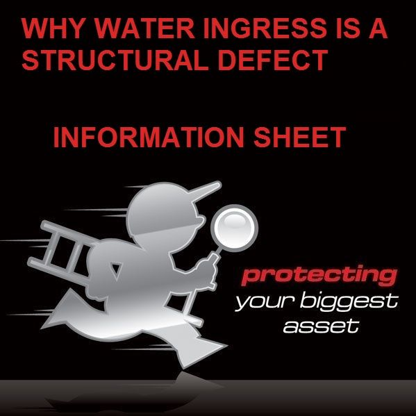 Why Water Ingress is a Structural Defect
