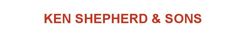Ken Shepherd and Sons Ltd, site logo.