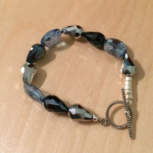 ''Multi Crystal Bracelet