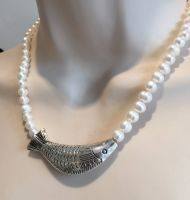 Pearl & Fish Necklace