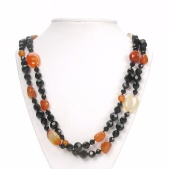 Agate Loop Necklace