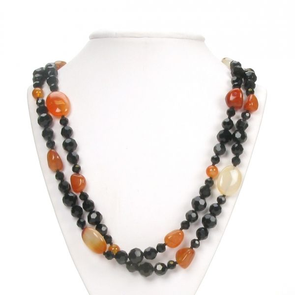 Agate & Crystal Necklace