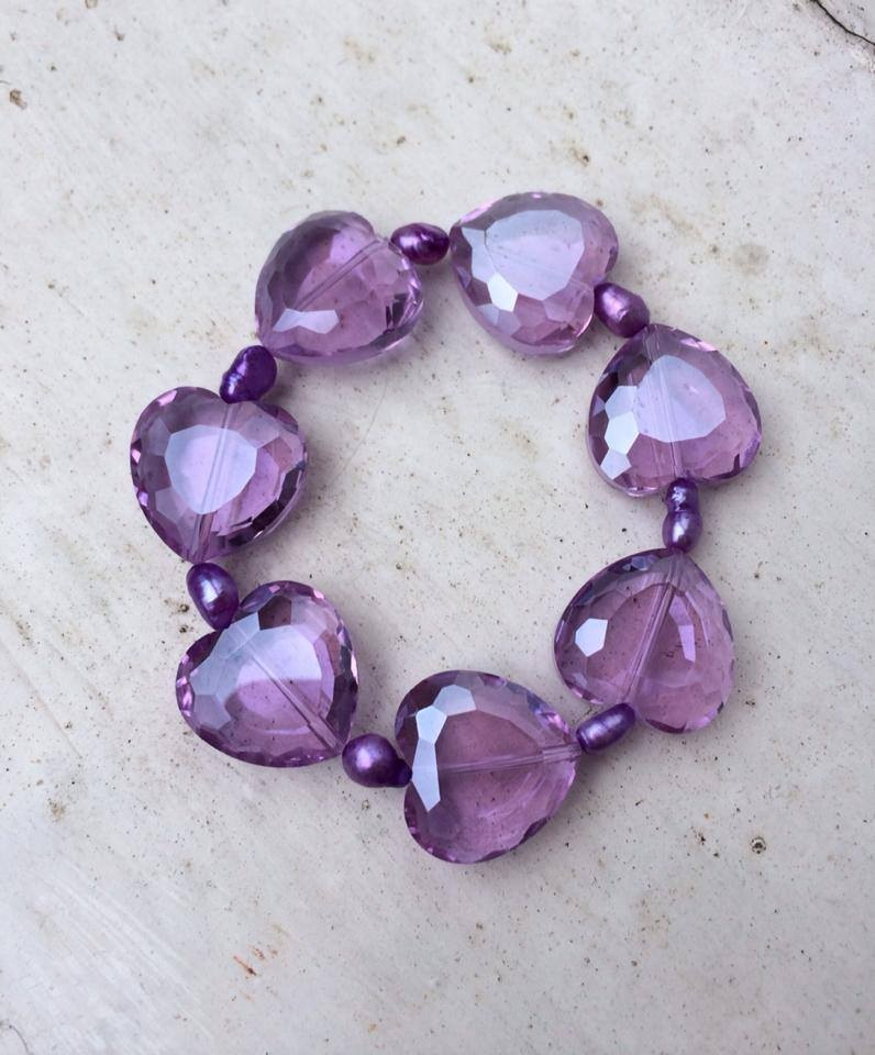 ''Purple Heart Bracelet