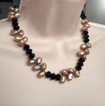 Brown & Black Necklace