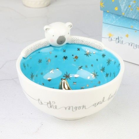 To The Moon and Back Ceramic Bowl