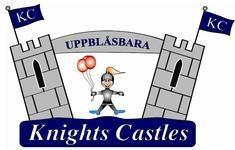 Välkomma till Knights Castles, site logo.