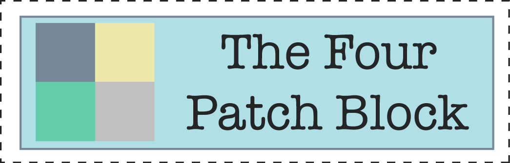 How to sew a Four-Patch Block