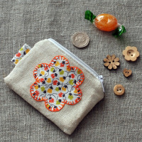 Coin Purse in Florals