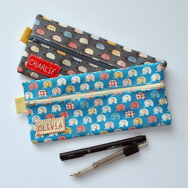 Name Label for Novelty Pencil Cases