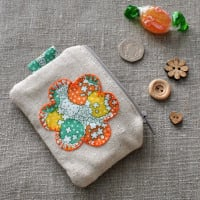 Coin Purse in Orange