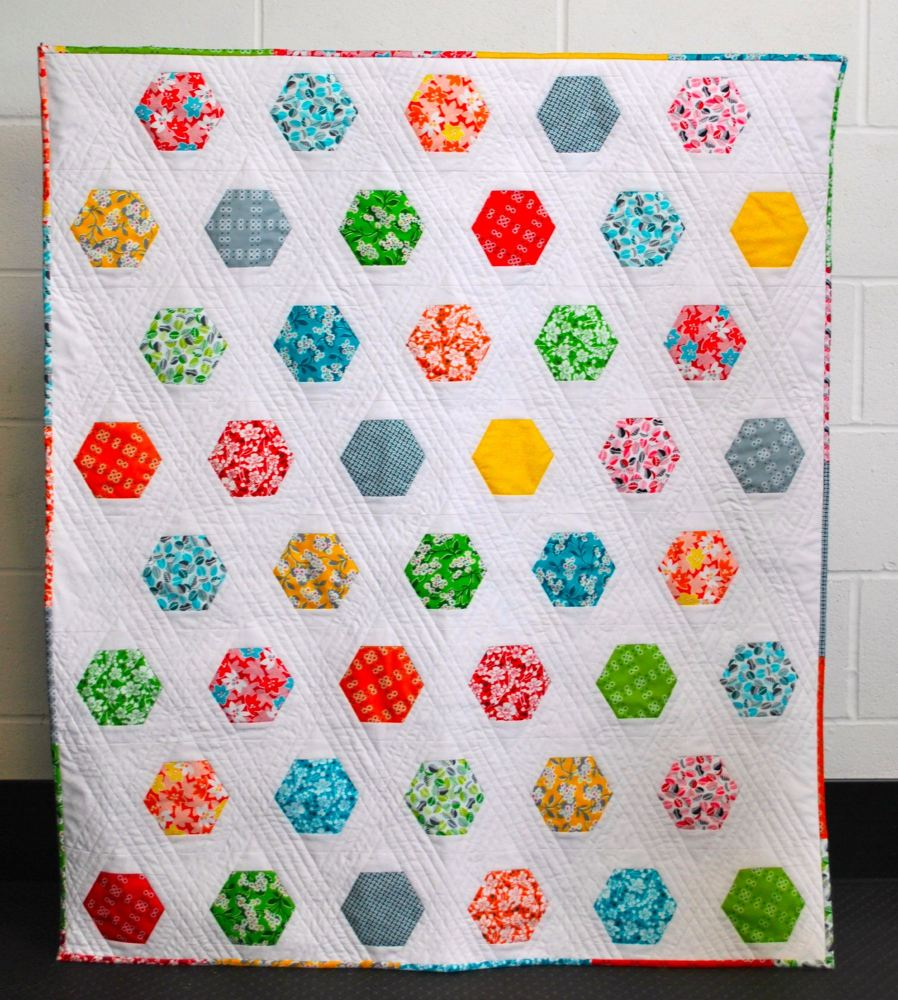 Floating Lilies Quilt Pattern