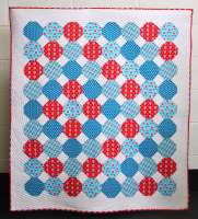 Snowballs In Spring Quilt Pattern