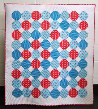 Snowballs In Spring Quilt Pattern