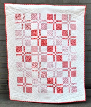 Square Dance Quilt Pattern