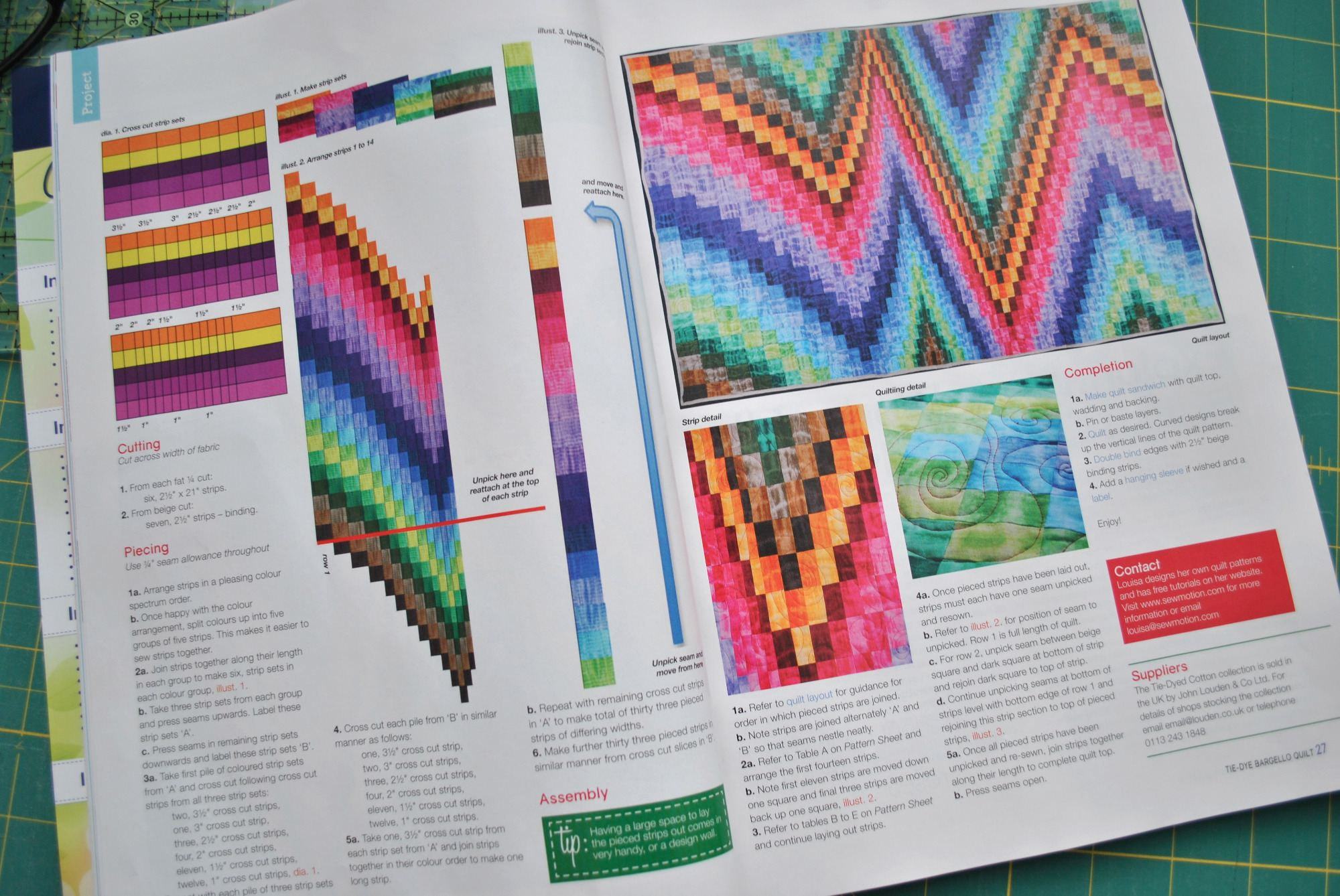 British Patchwork & Quilting Article
