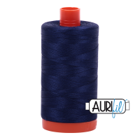 Aurifil Mako 50 Cotton/1300m - Navy - 2745