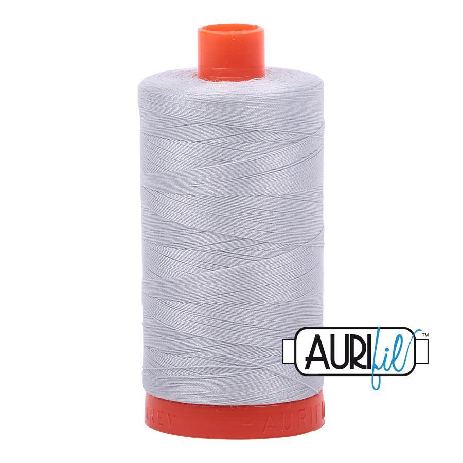 Aurifil Mako 50 Cotton - Silver - 2600