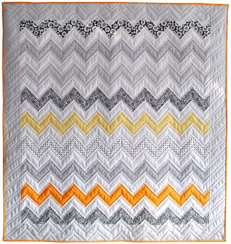 Monochrome Sunset Quilt Kit
