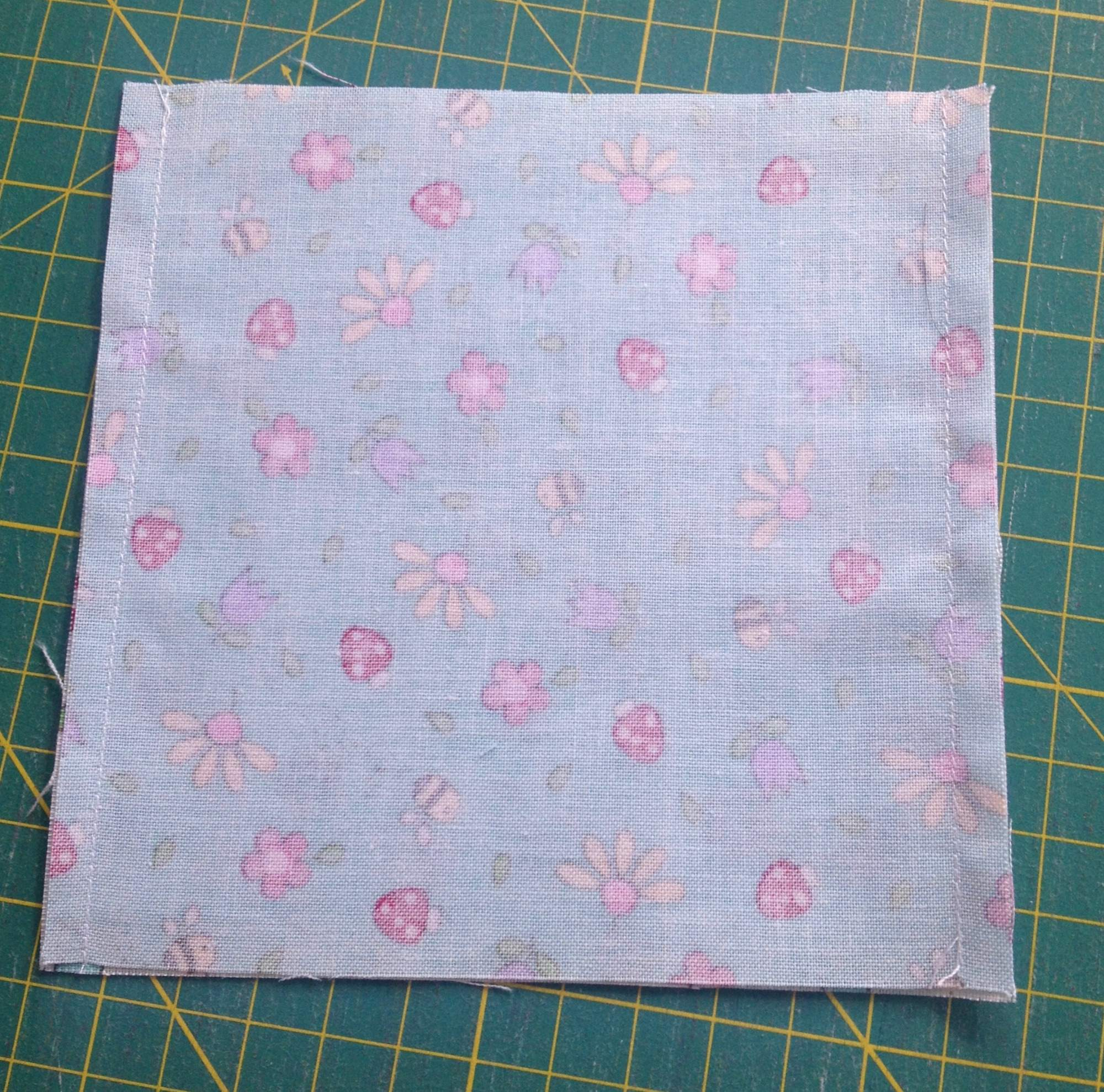 sew charm squares together