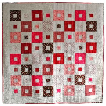 All Squared Up Quilt Kit in P&B's American Patch