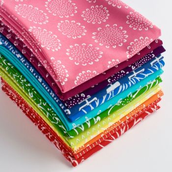Blueberry Park Fat Quarter Bundle from Karen Lewis Textiles - 12pieces
