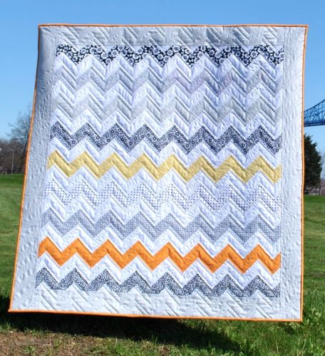 Monochrome Sunset Quilt Pattern