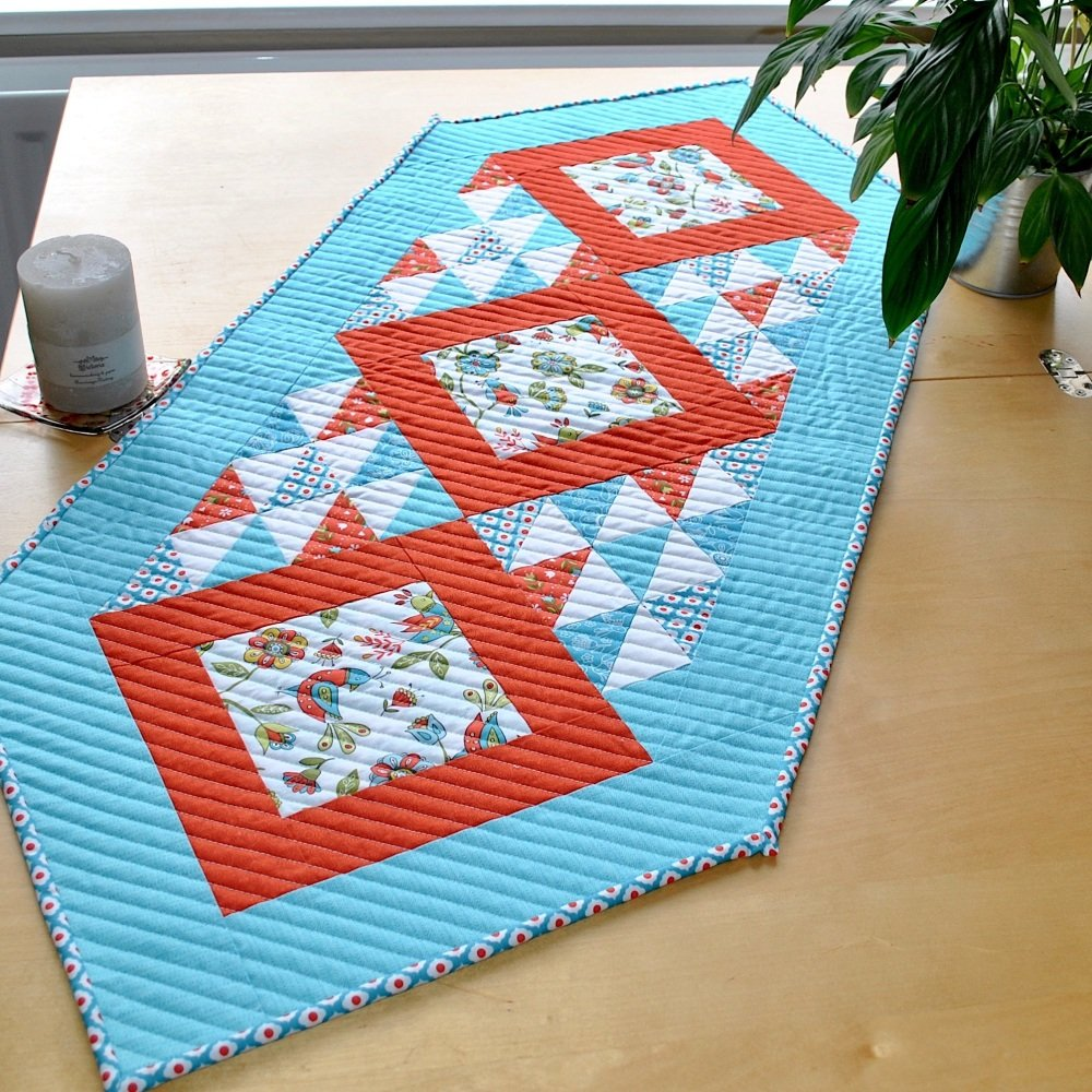 Table Runner in Riley Blake's Dutch Treat Collection
