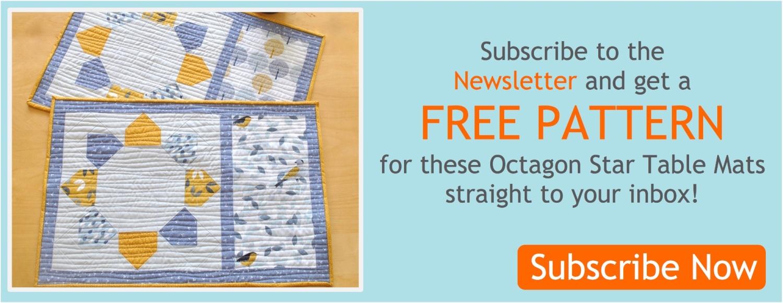 Octagon mats banner sub
