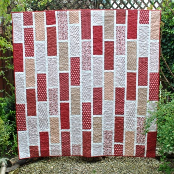 Red Brick Tile Quilt Pattern
