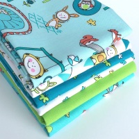 Let's Play in Blue Fat Quarter Bundle from Michael Miller