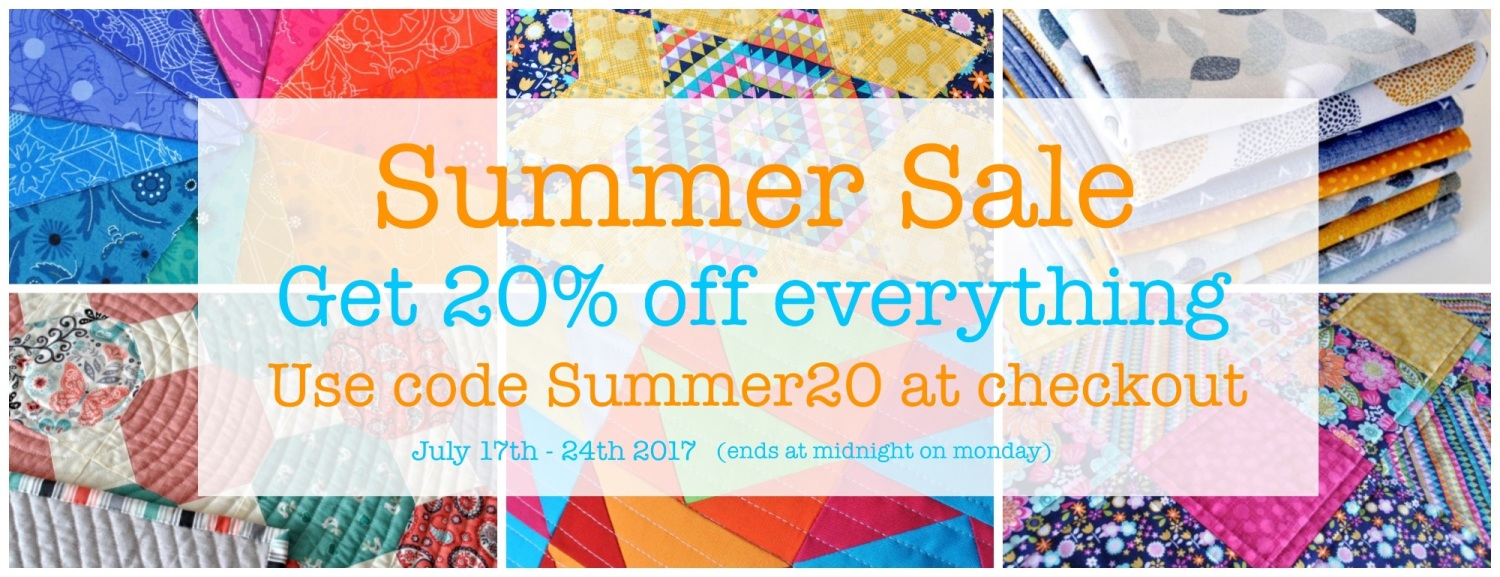 Summer Sale Website banner