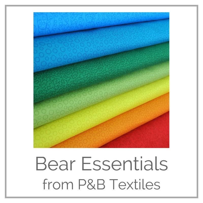 <!-- 007 -->Bear Essentials from P&amp;B Textiles