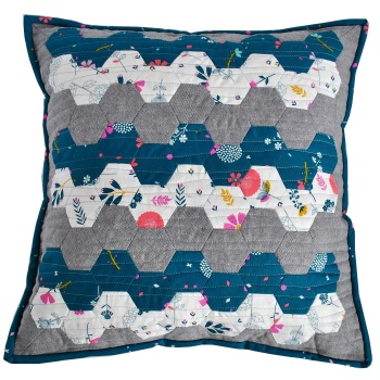 Hexy Cushion Pattern - Includes pre-cut papers