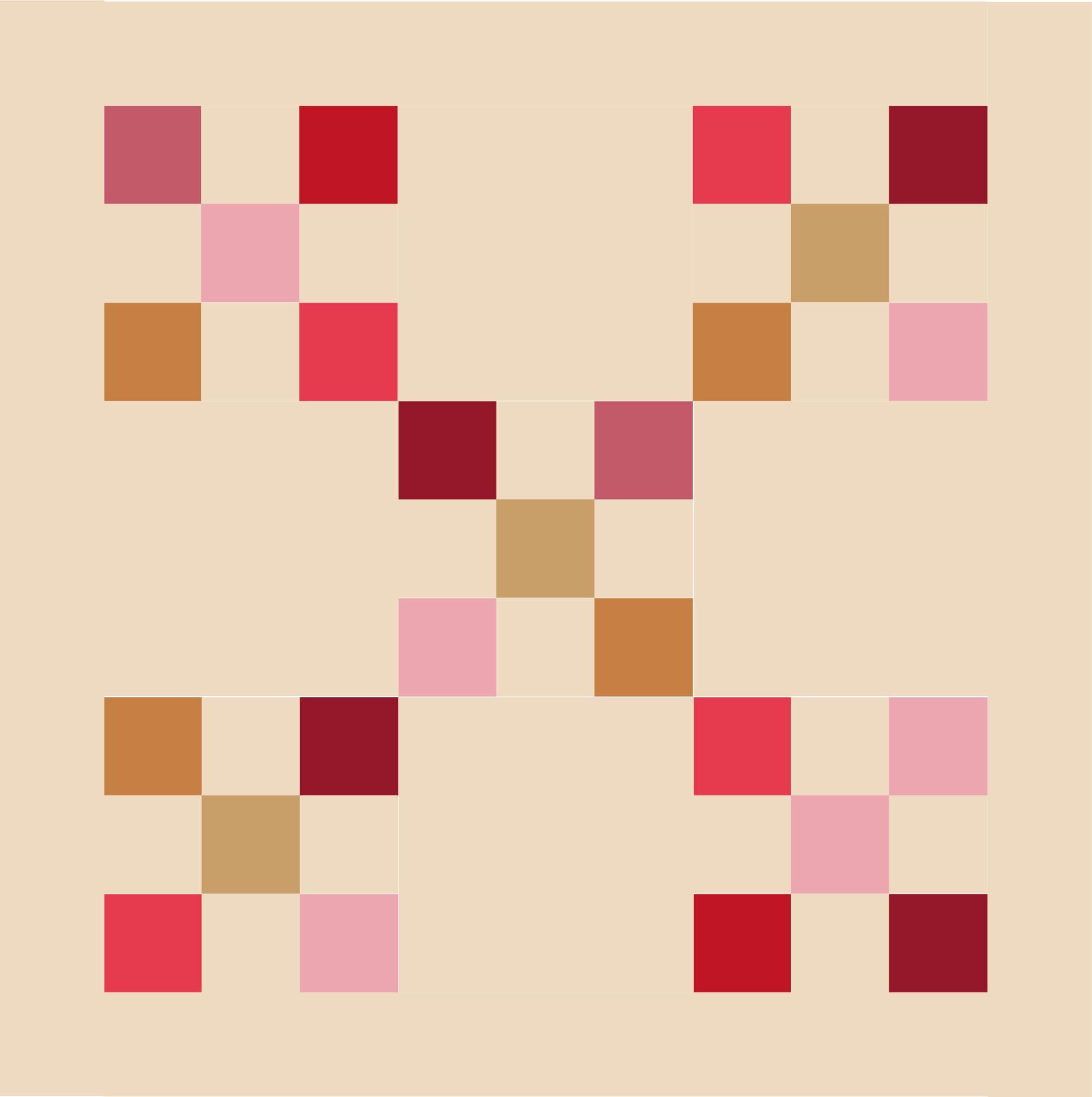 Nine Patch Irish Chain - free pattern