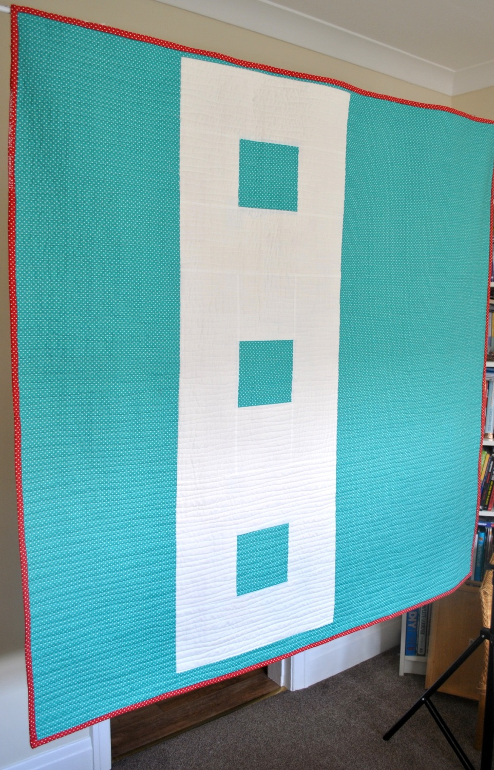 Backing Pack for All Squared Up Quilt in Happy Day Prints