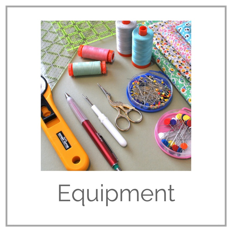 Quilting equipment tutorial