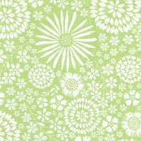 Flora Pop in Celery from Michael Miller - DC7405-Celr-D